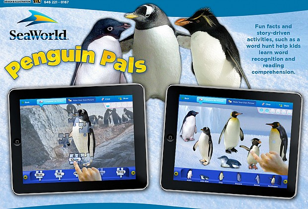Penguin Pals was another app I worked on for iOS platform. The two games showcased here were layer out and designed by me. I also was able to give some input on how the activity would flow.